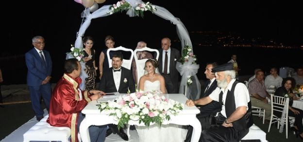 Banana'da renkli düğün