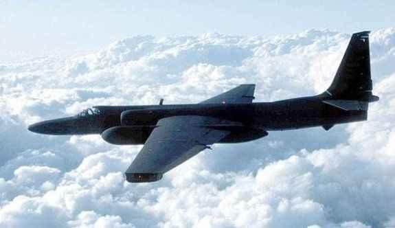 U-2 tipi casus uçağı düştü