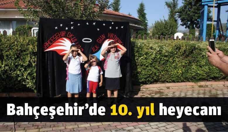 Bahçeşehir'de 10. yıl heyecanı