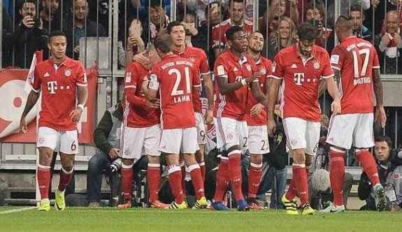 Bayern Münih yenilmezliğini sürdürdü