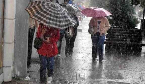 Meteoroloji kuvvetli yağış için uyardı!