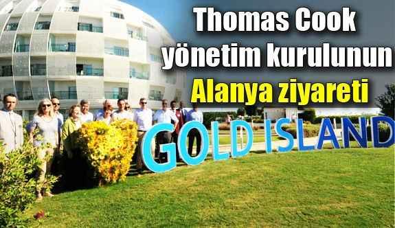 Thomas Cook yönetim kurulunun Alanya ziyareti