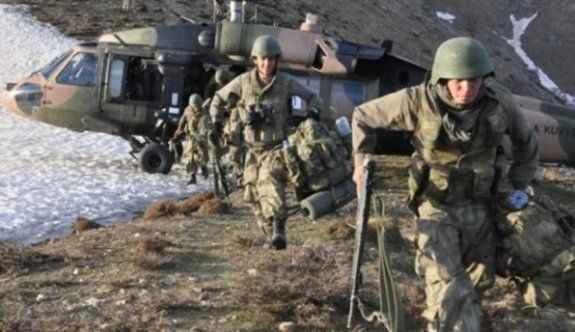 Operasyonlarda 2 korucu şehit, 5 PKK'lı öldürüldü