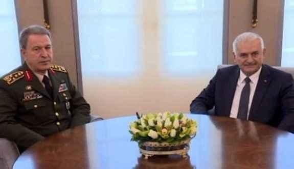 Başbakanlık Resmi Konut'ta kritik görüşme
