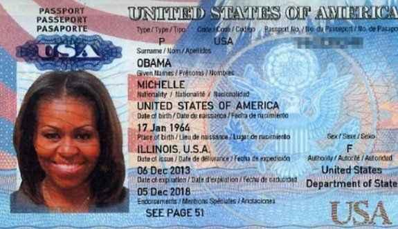 ABD'de First Lady'ye büyük şok