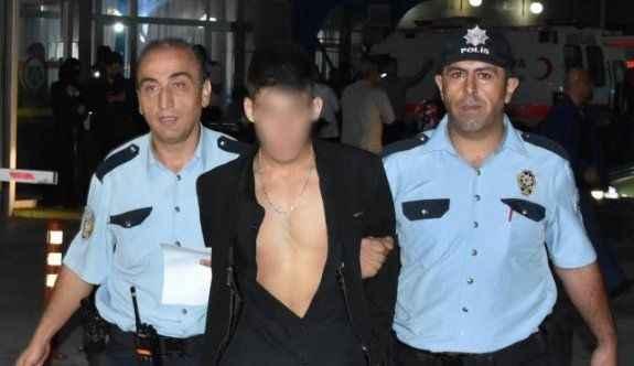 Asansörde cinsel taciz şüphelisi tutuklandı