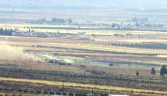 IŞİD hedefleri obüs ve roketlerle vuruluyor