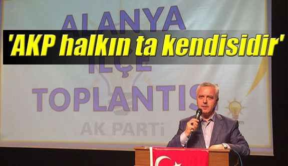 'AKP halkın ta kendisidir'