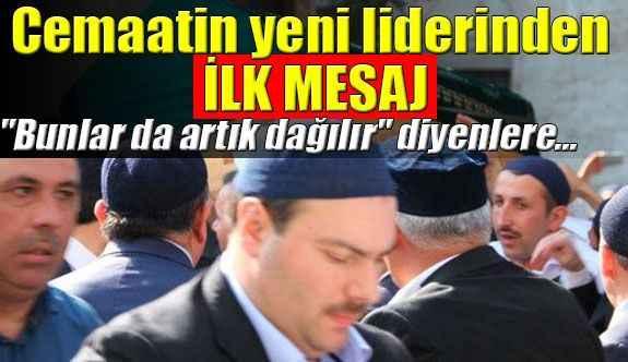 Süleymanlıların yeni lideri Alihan Kuriş'ten ilk mesaj