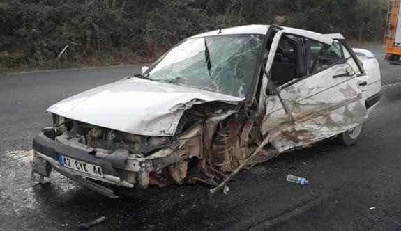 Korkutan kaza: 5 yaralı
