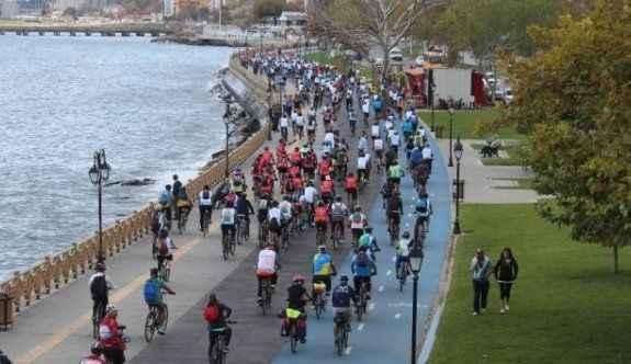 Binlerce bisikletli 'Rodosto Bike'de buluştu