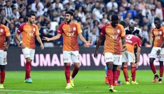 Galatasaray'da Beşiktaş'a teşekkür