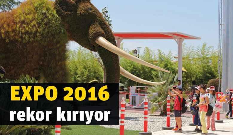 EXPO 2016 rekor kırıyor