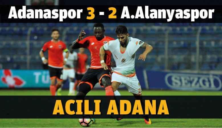 Adanaspor - Aytemiz Alanyaspor maçı