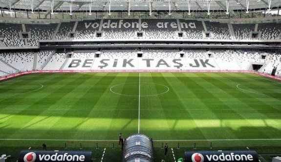 Vodafone Arena'da bir ilk daha