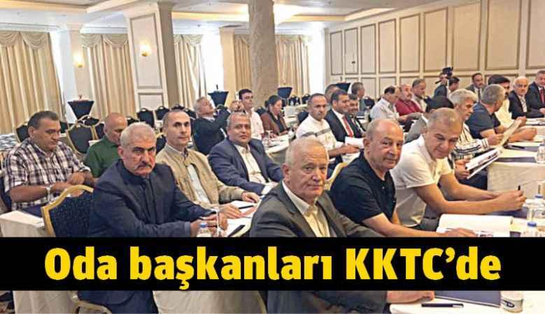 Oda başkanları KKTC'de