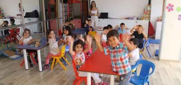 Peri'de çocuklar öğrenerek büyüyor