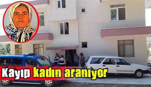 Manavgat'ta kayıp kadın aranıyor