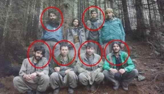 Öldürülen teröristler fotoğraf da çekmiş!