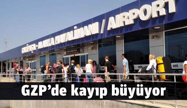 Gazipaşa-Alanya Havalimanı'nda kayıp büyüyor