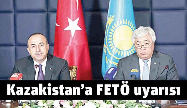 Kazakistan'a FETÖ uyarısı