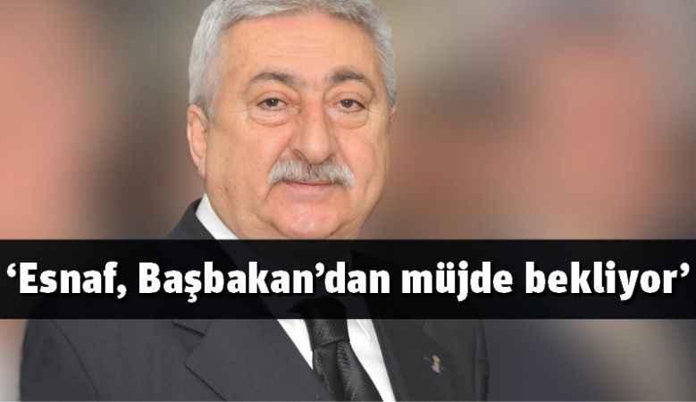 'Esnafa can suyu kredisi verilmeli'