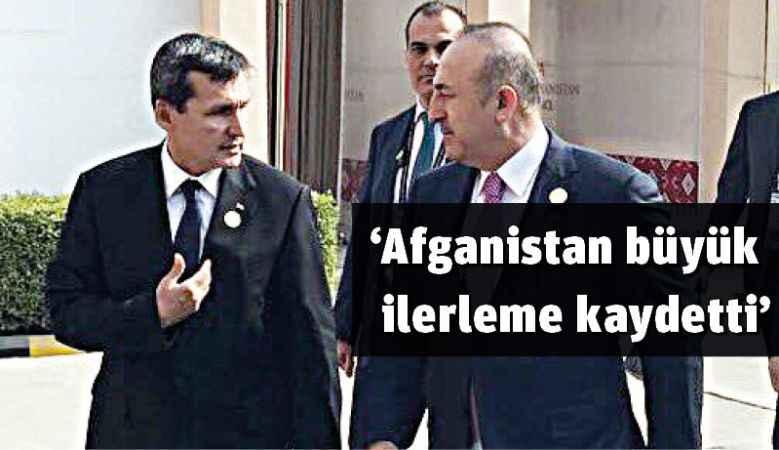 'Afganistan büyük ilerleme kaydetti'