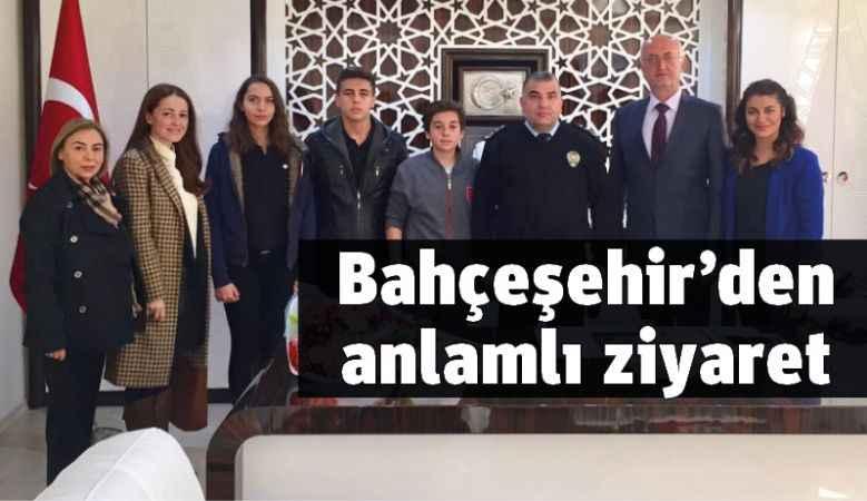 Bahçeşehir'den anlamlı ziyaret