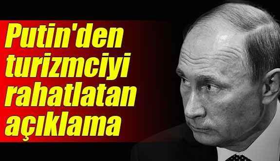Putin: Karlov'un öldürülmesi ilişkilerimize zarar vermeyecek
