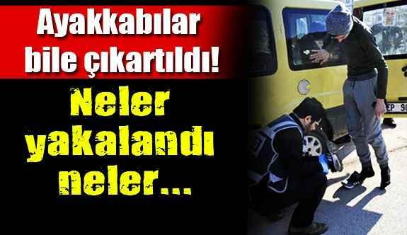 Antalya'da operasyon!