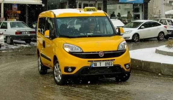 Ticari taksiler yenilendi