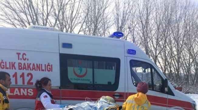 Antalya'da sobaya dökülen tiner parladı: 4 yaralı