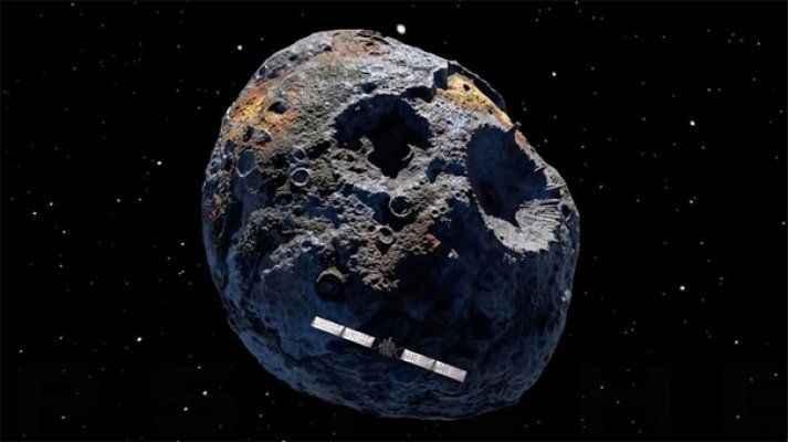 NASA binlerce dünyaya bedel bir asteroidin peşinde