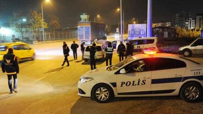 Bin polisin yaptığı uygulamada 45 kişi yakalandı