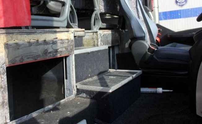 Otobüste 108 kilo eroin ele geçirildi