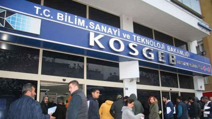 KOSGEB'den 6 milyon Tl'lik krediye faiz desteği