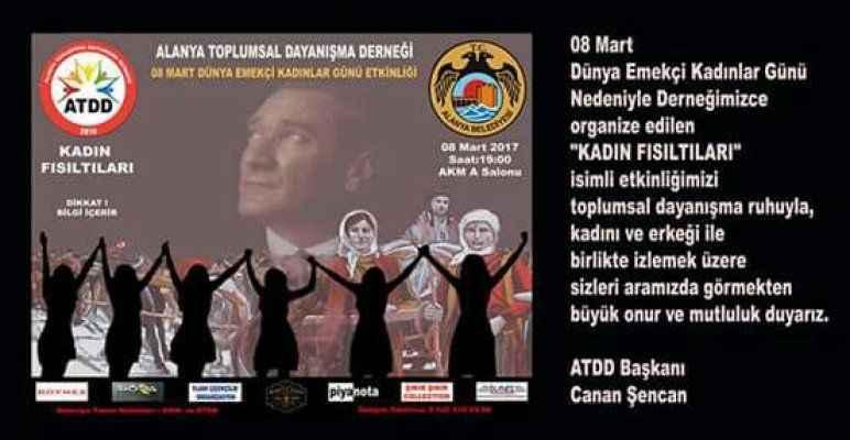 ATDD ilk etkinliğini yarın yapacak