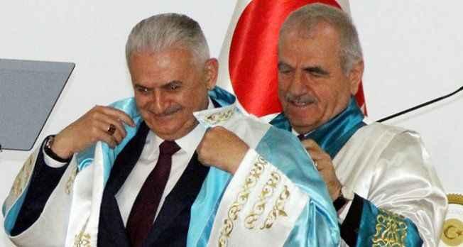 Başbakan Yıldırım'a Fahri Doktora
