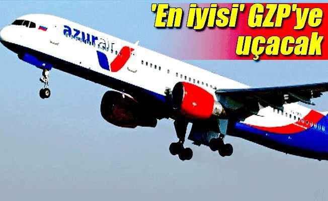 Azur Air Rusya'nın en iyi charter hava yolu şirketi seçildi