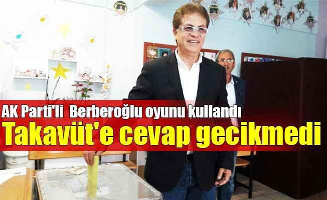 AK Parti'li Berberoğlu oyunu kullandı