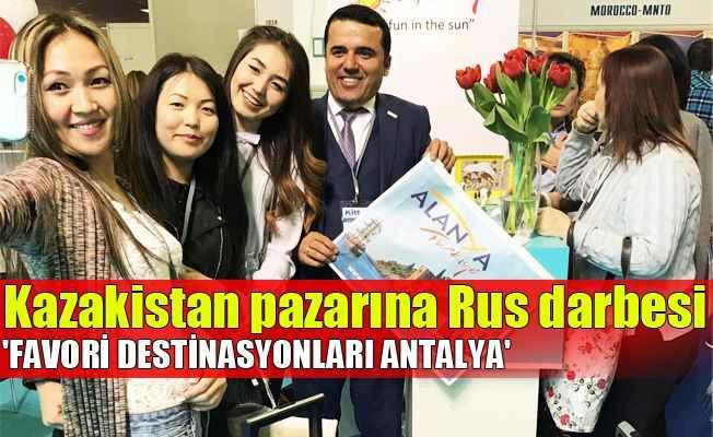 Kazakistan pazarına Rus darbesi