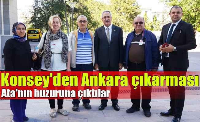 Konsey'den Ankara çıkarması