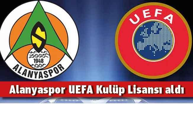 Alanyaspor UEFA Kulüp Lisansı aldı