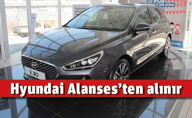 Hyundai Alanses'ten alınır