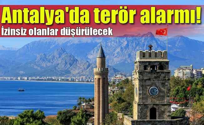 Antalya'da alkol yasağından sonra drone yasağı
