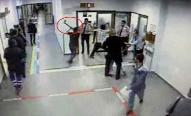 Devlet Hastanesi'ndeki baltalı saldırganlar yakalandı
