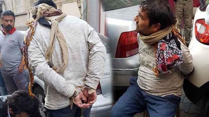 Dün kurtarıldı, bugün tutuklandı