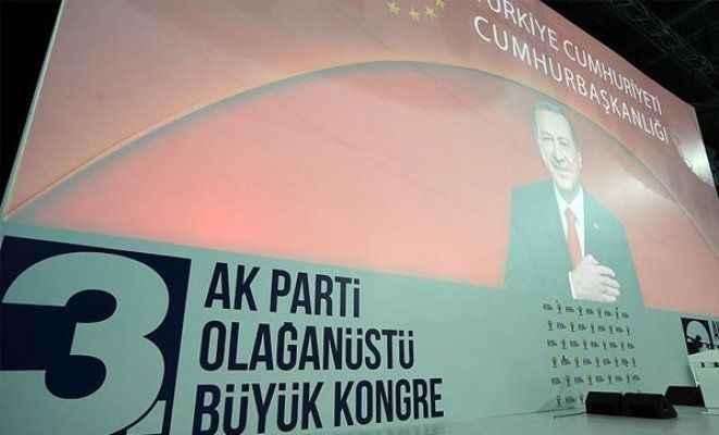 AK Parti'de kongre günü
