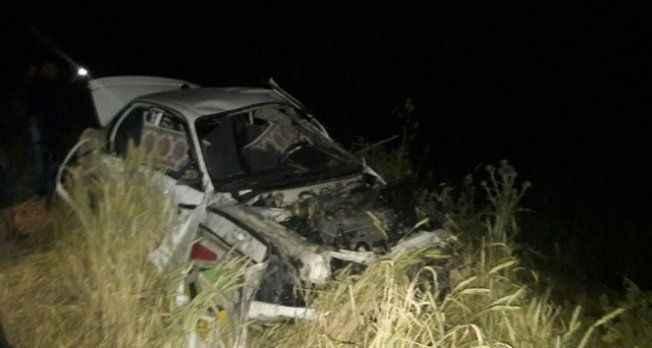 Otomobil şarampole yuvarlandı: 1 ölü 3 yaralı