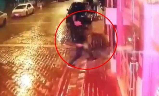 Sokak köpeğine işkenceye 2 gözaltı